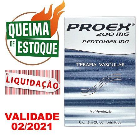 Proex 200mg 20 Comprimidos - Cepav - LIQUIDAÇÃO