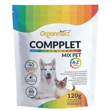 Suplemento Vitamínico Compplet Mix Pet 60 Tabletes Organnact