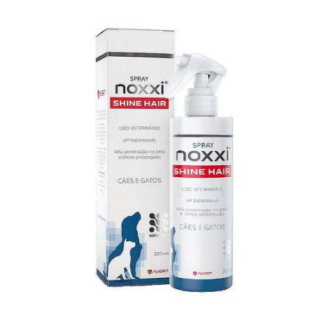 Hidratante Noxxi Shine Hair 200ml - Avert