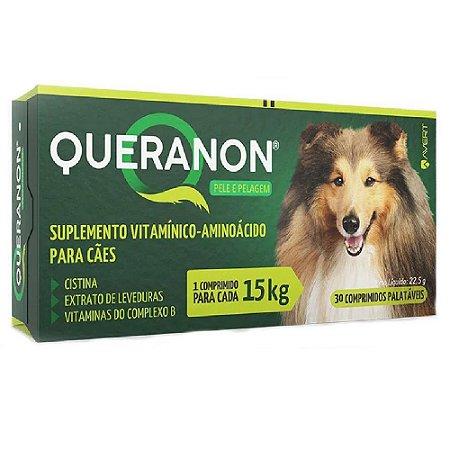 Suplemento Vitamínico Queranon 15kg 30 Comprimidos - Avert