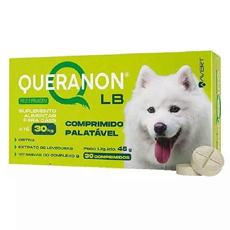 Suplemento Vitamínico Queranon LB 30kg 30 Comprimidos Avert