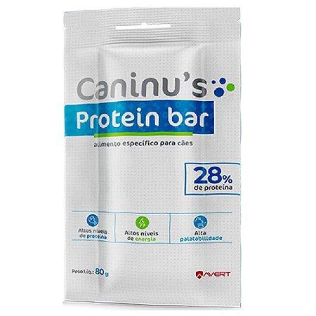 Caninus Protein Bar 80g - Avert