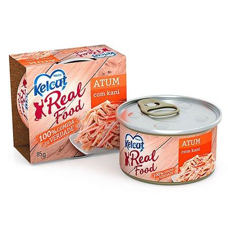 Kelcat Real Food Atum com Kani 85g - Kelco