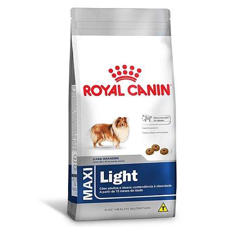 Ração Royal Canin Size Maxi Light Cães Tendências ao Sobrepeso Porte Grande 15kg