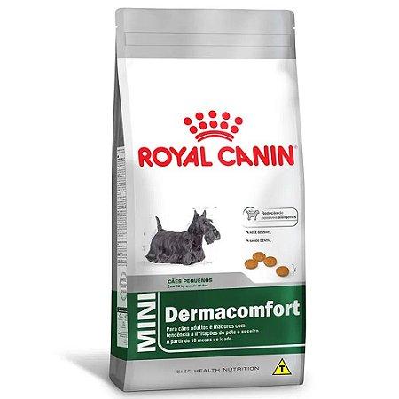 Ração Royal Canin Size Cães Mini Dermacomfort Adultos 1kg