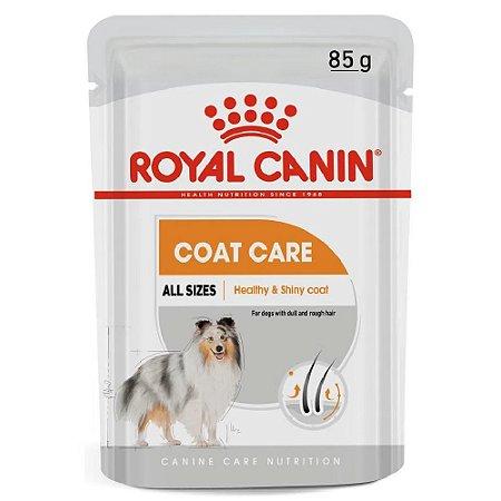 Ração Úmida Royal Canin Coat Care Cuidos da Pelagem Wet 85g