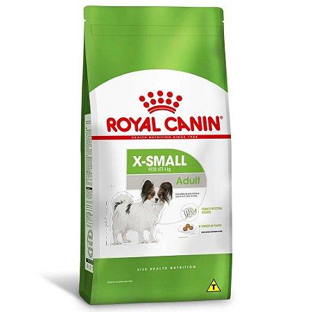 Ração Royal Canin Size X-Small Adult Cães Adultos Porte Miniatura 2,5kg