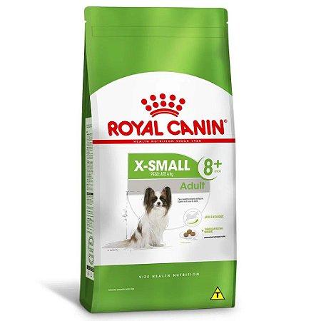Ração Royal Canin Size X-Small Adult 8+ Cães Adultos Acima de 8 Anos Porte Miniatura 2,5kg