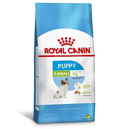Ração Royal Canin Size X-Small Puppy Cães Filhotes Porte Miniatura 1kg
