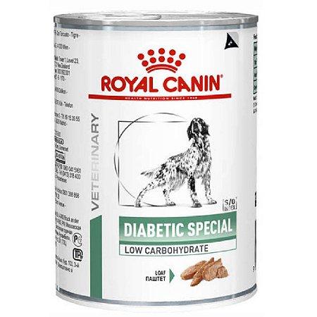 Ração Úmida Royal Canin Veterinary Diet Cães Diabetic 410g