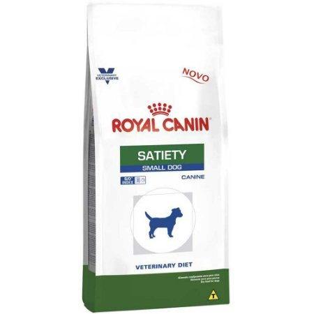Ração Royal Canin Veterinary Cães Satiety Small 1,5kg