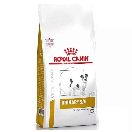 Ração Royal Canin Veterinary Cães Urinary Small 2kg