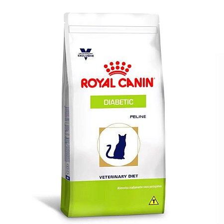 Ração Royal Canin Veterinary Gatos Diabetic 1,5kg