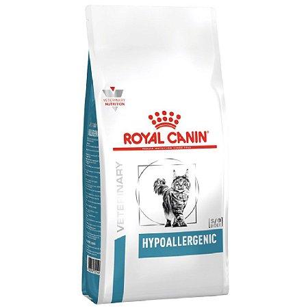 Ração Royal Canin Veterinary Gatos Hypoallergenic 1,5kg