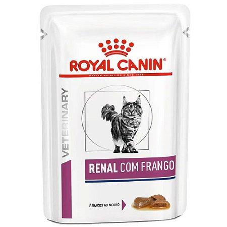 Ração Úmida Royal Canin Gatos Sachê Renal Wet 85g