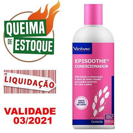 Condicionador Episoothe 500ml - Virbac - LIQUIDAÇÃO
