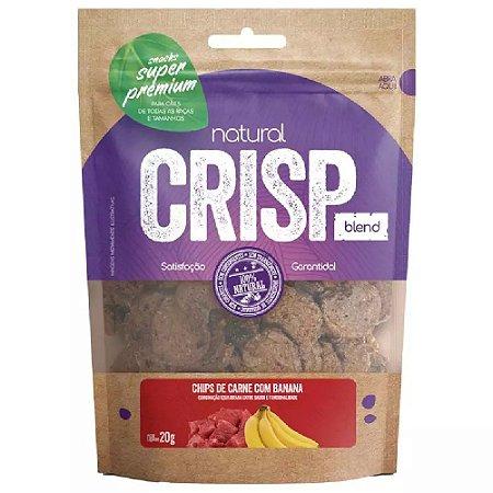 Snacks Chips De Carne Com Banana Natural Crisp 20g