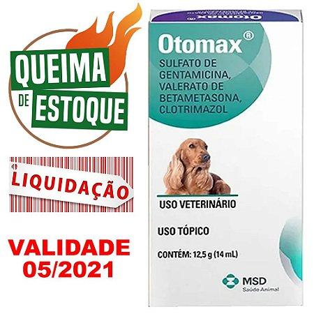 Otomax  - 12,5g (14ml) Msd LIQUIDAÇÃO (VAL.05/21)