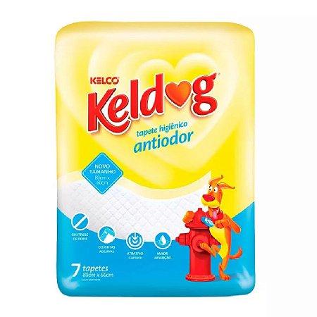 Tapete Higiênico Keldog Antiodor 7un - Kelco