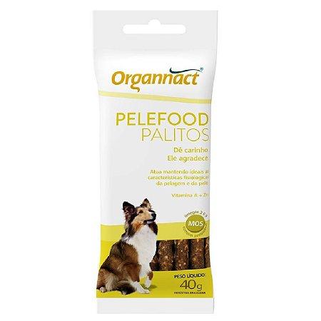 Suplemento Alimentar Organnact Pelefood Palitos 40G