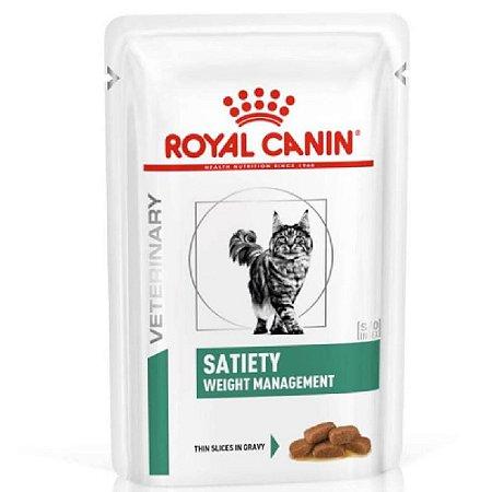 Ração Úmida Royal Canin Gatos Sachê Satiety Wet 85g