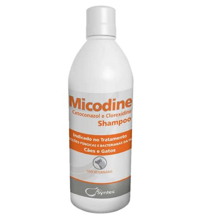 Shampoo Micodine 500ml - Syntec