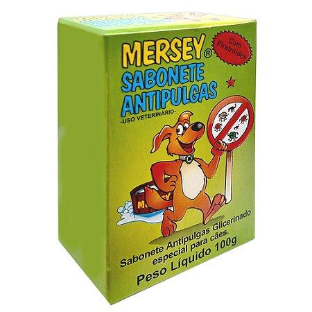 Sabonete Mersey Antipulgas 100g