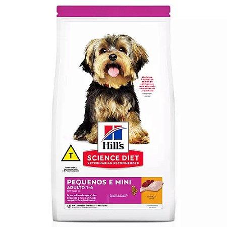 Ração Hill's Science Diet Cães Adulto Pequenos e Minis 6kg