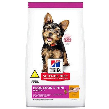 Ração Hills Science Diet Cães Filhotes Miniaturas 6kg