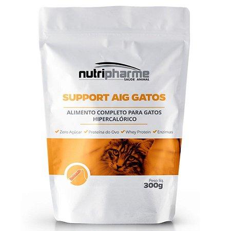 Alimento Support Aig Gatos Hipercalórico 300g - Nutripharme