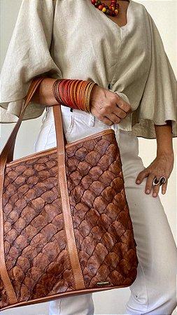 Bolsa Tote Bag Pirarucu