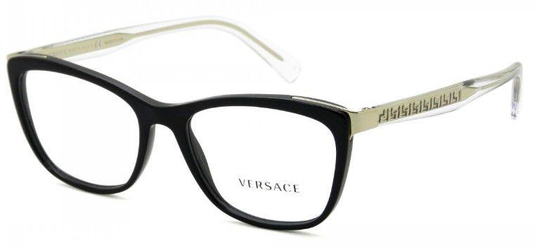 Óculos de Grau Versace VE3255 GB1 54