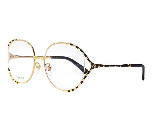 Óculos de Grau Gucci GG0596OA 001 58