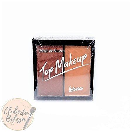Estojo de Blushes - Top Makeup Luisance Cor: C