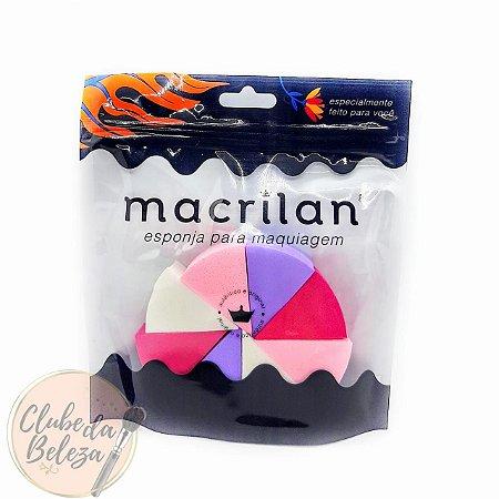 Esponja para maquiagem queijinho - Macrilan