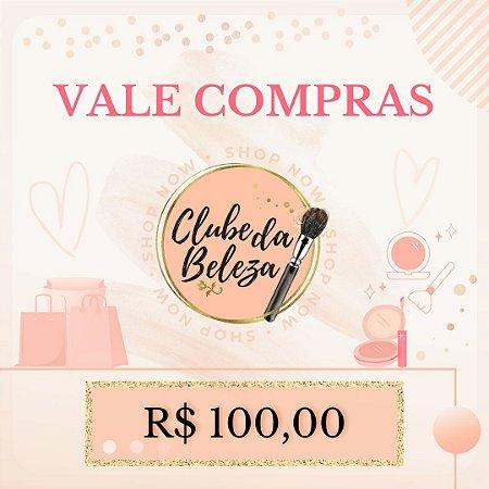 Vale Presente Clube da Beleza - R$ 100,00