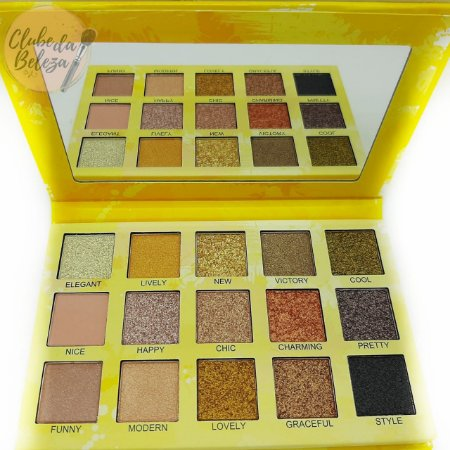 Paleta de Sombras Spotlight Eyeshadow Gold - Luisance