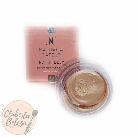 Iluminador em gel - Nath Jelly Cor: Gold - Nathalia Capelo