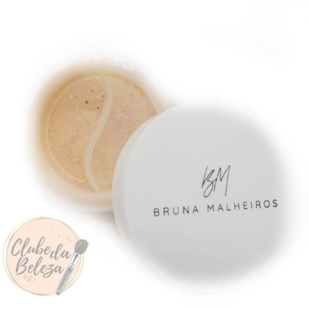 Face Powder (pó solto facial) - Cor: Translucent Banana  - Bruna Malheiros