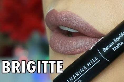Batom Líquido Matte Cor: Brigitte - Catharine Hill