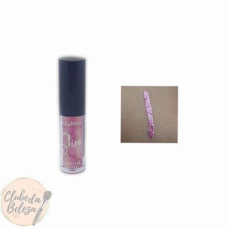 Delineador Glitter Shine 05 - Ruby Rose