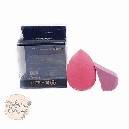 Esponja para maquiagem - Gota + Queijinho - Meily's