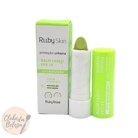Balm Labial FPS 15 Proteção Urbana - Ruby Rose