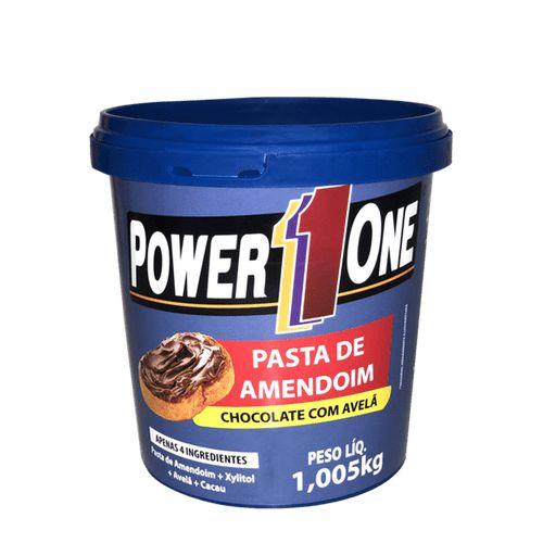 Pasta de amendoim chocolate com avelã 1,005Kg Power1one