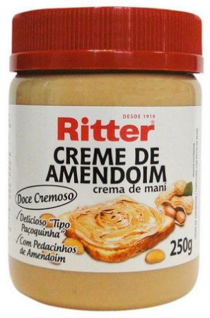 Creme de Amendoim 250g Ritter