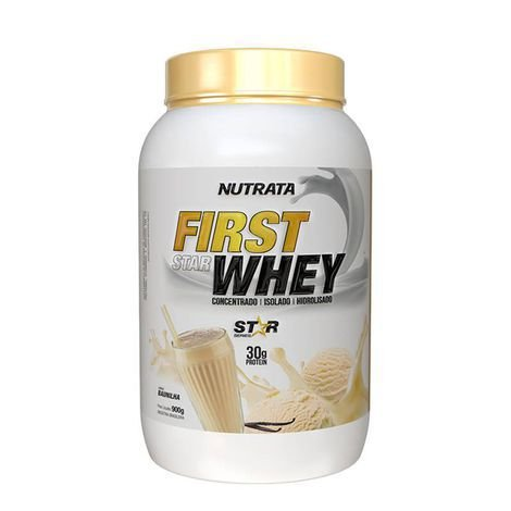 Whey Protein Hidrolisado e Isolado Baunilha 900 g Nutrata