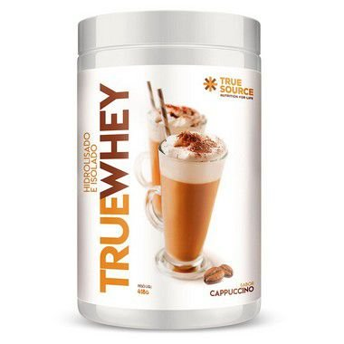 Whey Protein Hidrolisado e Isolado 418 g Cappuccino True Source
