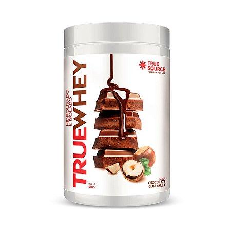 Whey Protein Hidrolisado e Isolado Chocolate com Avelã 418 g True Source
