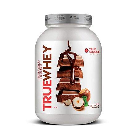 Whey Protein Hidrolisado e Isolado  Chocolate com Avelã 837 g True Source