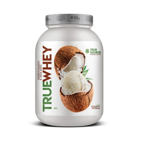 Whey Protein Hidrolisado e Isolado  Coco 837 g True Source